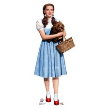 The Wizard of Oz - Dorothy and Toto Life-Size Wall Jammer