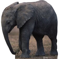 Animals Elephant Life-Size Cardboard Stand-Up