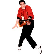 <strong>Advanced Graphics</strong> Elvis Presley - Red Jacket Life-Size Cardboard Stand-Up