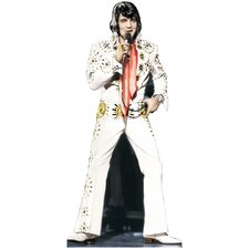 Elvis Presley - White Suit Life-Size Cardboard Stand-Up