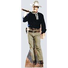 Cardboard Hollywood's Wild West John Wayne - Rifle on Shoulder Standup
