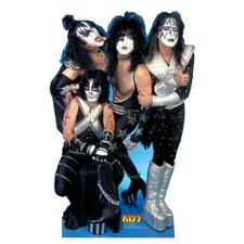 Kiss Group Life-Size Cardboard Stand-Up