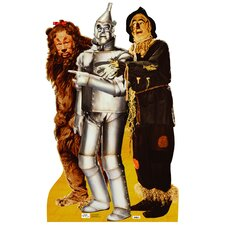 The Wizard of Oz Lion, Tinman and Scarecrow Walljammers Wall Decal