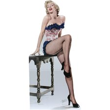 <strong>Advanced Graphics</strong> Marilyn Monroe - Net Stockings Life-Size Cardboard Stand-Up