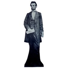 Cardboard Patriotism and Politics Abraham Lincoln Standup