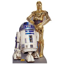 <strong>Advanced Graphics</strong> Star Wars - R2-D2 & C-3P0 Life-Size Cardboard Stand-Up