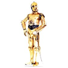 <strong>Advanced Graphics</strong> Star Wars - C-3P0 Life-Size Cardboard Stand-Up