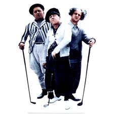 Three Stooges - Golf Life-Size Cardboard Stand-Up
