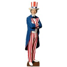 Cardboard Patriotism and Politics Uncle Sam Standup