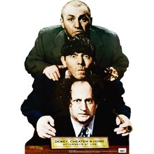 Cardboard Three Stooges - Dewey, Chetum and Howe Standup