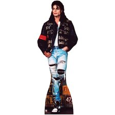 <strong>Advanced Graphics</strong> Michael Jackson - License Plates Cardboard Stand-Up