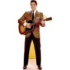 Elvis Presley Sportscoat Guitar Cardboard Stand-Up