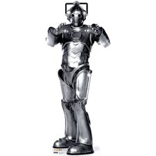 Dr. Who Cyberman Cardboard Stand-Up