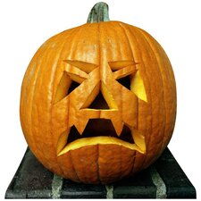 Halloween Single Pumpkin Cardboard Stand-Up