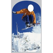 <strong>Advanced Graphics</strong> Snowboarder Stand In Cardboard Stand-Up