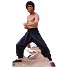 Hollywood Bruce Lee Color Cardboard Stand-Up