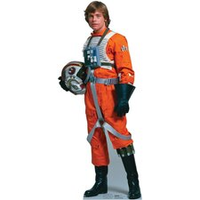 <strong>Advanced Graphics</strong> Luke Skywalker Rebel Pilot Cardboard Stand-Up