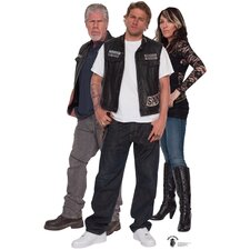 Sons of Anarchy Group Cardboard Stand-Up
