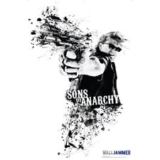 <strong>Advanced Graphics</strong> Sons of Anarchy Jax Piston Wall Decal