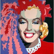 Martin Kreloff Marilyn Monroe Jammer Showgirl Wall Decal