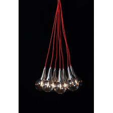 Bulb Rope 7 Cluster Hanging Light