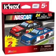 NASCAR 24 Drive to End Hunger and 88 National Guard Micro Scale Building Set