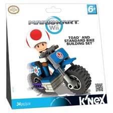 Nintendo Toad and Standard Bike Building Set