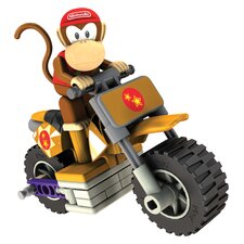 Nintendo Diddy Kong and Standard Kart Building Set