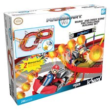 Nintendo Mario and Diddy Kong's Fire Challenge Building Set