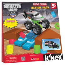 <strong>K'NEX</strong> Monster Jam Grave Digger Action Pack Building Set
