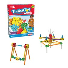 Tinkertoy 65 Piece Essentials and Animal Set Kit