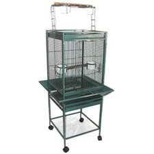 <strong>YML</strong> Play Top Parrot Bird Cage with 2 Feeder Doors