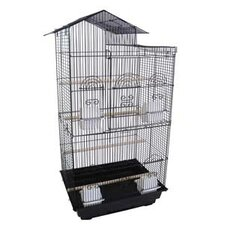 <strong>YML</strong> Villa Top Small  Bird Cage with 4 Feeder Doors