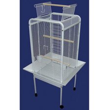Play Top Parrot Bird Cage in White