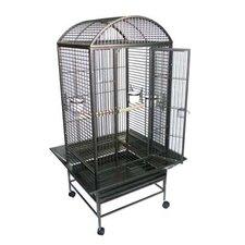 Narrow Dome Top Parrot Bird Cage