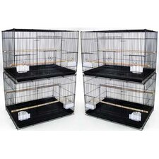 Lot of Four Medium Bird Cage