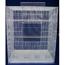 Lot of Four Large Bird Breeding Cages