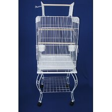 Play Top Parrot Bird Cage with Stand