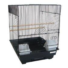 Flat Top Bird Cage