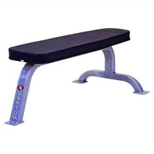 High Impact Commercial Flat Bench with Wide Tapered Top