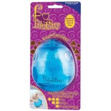 Egg-Cersizer Cat Toy in Teal