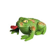 <strong>Premier Pet</strong> Squeeze Meeze Frog Dog Toy