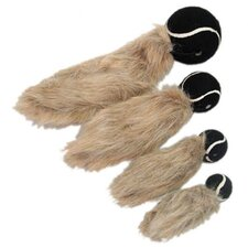Tennis Tail Squirrel Dog Toy