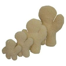 Sheepskin Ted Dog Toy