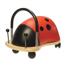 <strong>Prince Lionheart</strong> Wheely Bug Ladybug Push/Scoot Ride-On
