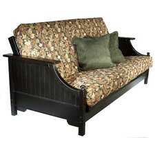 <strong>Strata Furniture</strong> Carriage Devonshire Ruberwood Futon Frame
