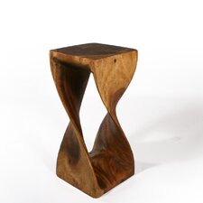 <strong>Strata Furniture</strong> Tall Twist End Table