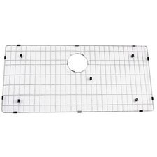 "Stainless Steel 33"" x 16"" Bottom Grid"