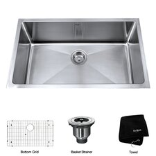 "30"" Undermount Kitchen Sink"