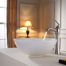 Bathroom Combos Bathroom Sink with Single Handle Single Hole Ventus Faucet